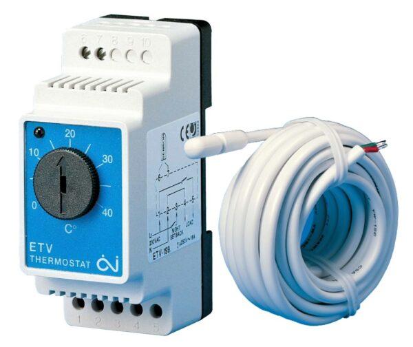 põrandakütte temperatuuri regulaator