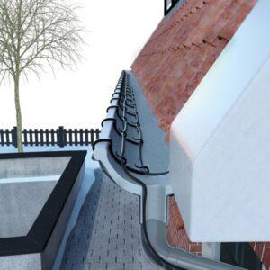 Vihmaveerenni katuse küttekaabel