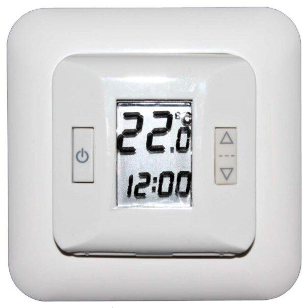 põrandakutte temperatuuri regulaator ekraaniga