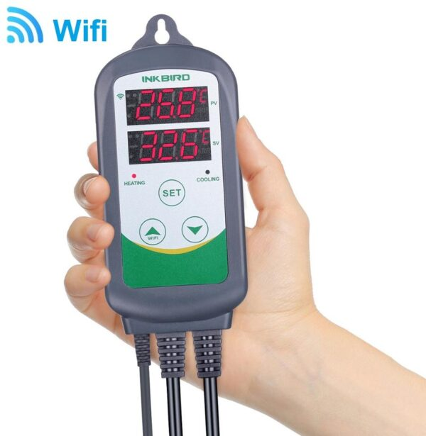 wifi temperatuuri kontroller
